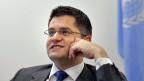 Der serbische UPräsident der Uno-Generalversammlung.
