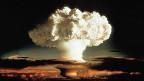 Der Atompliz des ersten Tests einer Wasserstoffbombe 1952.