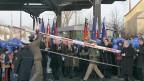 Im Dezember 2007 an der deutsch-polnischen Grenze.