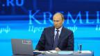 Wladimir bei seinem Fernsehauftritt am 25. April.