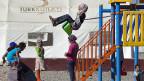 Im Flüchtlingslager Islahiye an der türkisch-syrischen Grenze können Jugendliche ihren Schulabschluss machen.