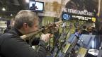 Blick in eine von zahlreichen Waffenmessen in den USA.