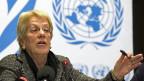 Carla del Ponte untersucht für die Uno Menschenrechtsverletzungen in Syrien.