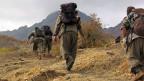 PKK-Kämpfer am 7. Mai auf dem Weg von der Türkei Richtung Irak.