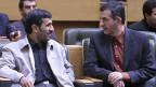 Mahmud Ahmadinejad und Rahim Mashai.