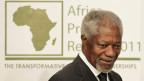 Korruption und Steuerhinterziehung hat in Afrika direkte Auswirkungen auf das Leben von Mütter und Kindern, sagt Kofi Annan. Bild: Kofi Annan in Cape Town, Südafrika, im Mai 2011.