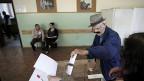 Ein Wahllokal in der bulgarischen Hauptstadt Sofia am 12. Mai 2013.