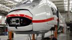 Neue Generation der ICE. Die deutsche Bahn hat bestellt, bei Siemens wurde produziert.