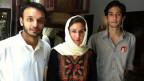 Karin Wenger auf Reportage in Peshawar.
