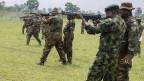 Der nigerianische Präsident Goodluck Jonathan (nicht im Bild) erklärte am 14. Mai 2013 in drei nordöstlichen nigerianischen Staaten den Notstand.  Diese Region ist am stärksten von Anschlägen der radikal-islamistischen Sekte Boko Haram betroffen.