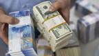 Schweizer Franken und US-Dollars