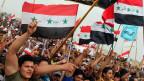 Irakische Sunniten protestieren gegen die Regierung