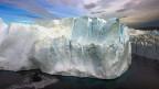 Vom Klimawandel bedrohte Eiskappe in Grönland