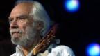 Georges Moustaki im Paleo Festival Nyon im Juli 2004.
