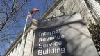 Sitz der US-Steuerbehörde IRS in Washington.