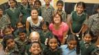 Die integrative Schule für behinderte Kinder in Mugalur, südlich von Bangalore in Indien. Die Ex-Miss-Schweiz Whitney Toyloy und ihre Mutter haben die Schule besucht,