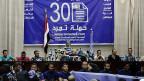 Eine Medienkonferenz der Tamarud-Bewegung, am 29. Mai 2013 in Kairo.
