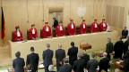 Das deutsche Verfassungsgericht tagt am 11. Juni in Karlsruhe.