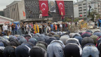 die türkische Gesellschaft ist gespalten