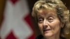 Finanzministerin Eveline Widmer-Schlumpf warnte vergebens vor dem Risiko, dass andere Banken ebenfalls ins Visier genommen werden könnten.