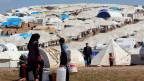 Flüchtlingslager in der nördlichen Provinz Idlib, Syrien, 5. April 2013.