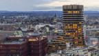 Der Sitz der Bank für Internationalen Zahlungsausgleich in Basel.