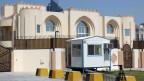 Das offizielle Verbindungsbüro der Taliban in Katar.