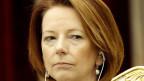 Julia Gillard muss nach drei Jahren ihre Macht abgeben,