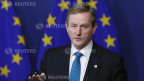 Dies sei ein guter Tag für 500 Millionen Europäer und besonders für 26 Millionen Arbeitslose. Der irische Premierminister Enda Kenny spricht während der Pressekonferenz in Brüssel am 27. Juni 2013 in Brüssel.