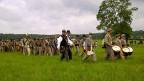 Laien-Darsteller während der - nachgespielten - Schlacht von Gettisburg.