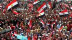 Mursi-GegnerInnen auf dem Kairoer Tahrirplatz, am 2. Juli 2013.