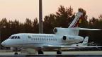 Das Flugzeug des bolivianischen Präsidenten, am 3. Juli auf dem Wiener Flughafen Schwechat.