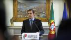 Portugals Ministerpräsident Pedro Passos Coelho, am 2. Juli in Lissabon.
