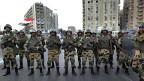 Spezialtruppen der ägyptischen Armee am 3. Juli in Kairo.