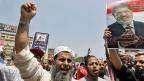 Mitglieder der Muslimbruderschaft am 4. Juli in Kairo.