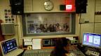 Ein ERT-Radiostudio in Athen am 15. Juni 2013 - nachdem die griechische Regierung verkündet hatte, sämtliche öffentlich-rechtlichen Sender würden geschlossen.