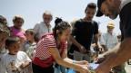 Immer mehr Griechinnen und Griechen sind froh um die Suppenküchen. Athen am 7. Juli 2013.