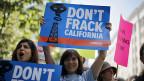Proteste gegen das Fracking in Kalifornien, am 30. Mai 2013 in Los Angeles.
