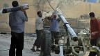 Soldaten der Freien Syrischen Armee am 14. Juli in Damaskus. Syriens Opposition ist zerstritten.