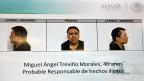 Fahndungsbild des mexikanischen Drogenbosses Miguel Ángel Treviño Morales.