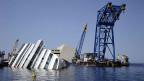 Das Wrack des vor der Insel Giglio gesunkenen Kreuzfahrtschiffes «Costa Concordia».
