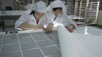 Solarpanel-Fabrik in Zentralchina