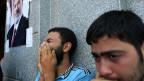 Mursi-Anhänger trauern um tote Brüder