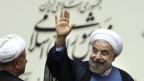 Irans Präsident Ruhani schlägt versöhnliche Töne an