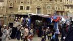 Strasse in der jemenitischen Hauptstadt Sanaa. Die USA fürchten Terroranschläge auf ihr BürgerInnen in Jemen.