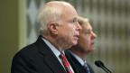 Auch die Vermittlungsversuche der zwei US-Senatoren John McCain und Lindsey Graham in Kairo haben nichts gebracht.