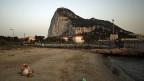 Blick auf den Felsen von Gibraltar.
