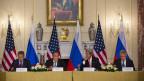 Die Aussen- und Verteidigunsminister der USA und Russlands