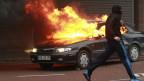 Im Zentrum von Belfast kam es erneut zu Ausschreitungen.
