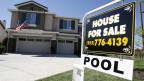 Ein Haus steht zum Verkauf in Kalifornien. Symbolbild.